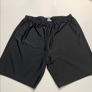 Black swimsuits for all swim shorts size 26